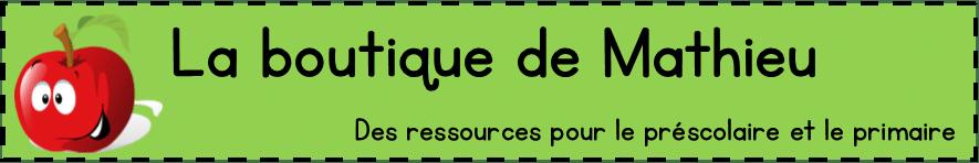 La boutique de Mathieu Desrochers Morin