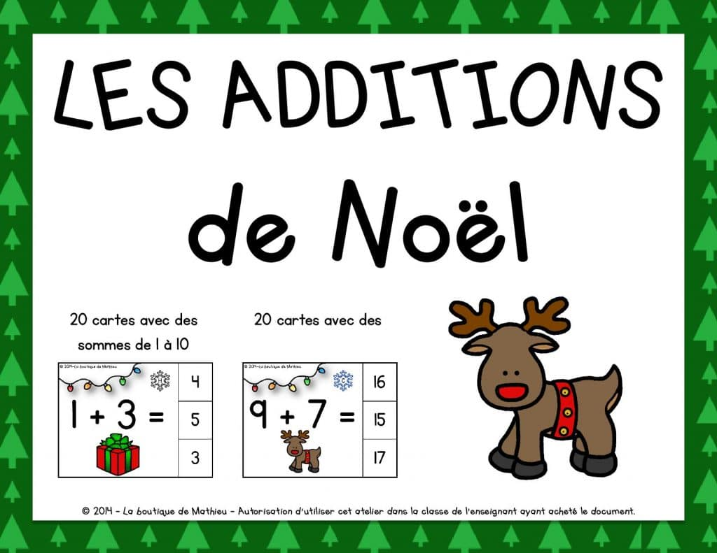 Les additions de Noël