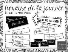 horaire noir et blanc ecriture cursive-page-001