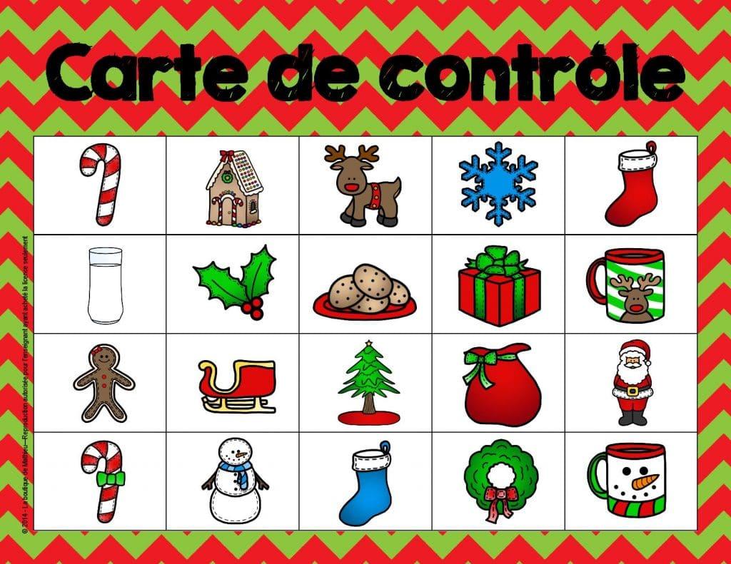 Remarquable Bingo de Noël (24 cartes différentes) – La boutique de Mathieu GX-79