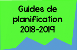 Guides de planification 2018-2019