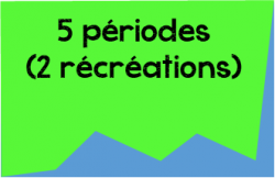 5 périodes
